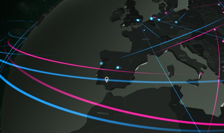 Estos son todos los ciberataques del mundo en tiempo real